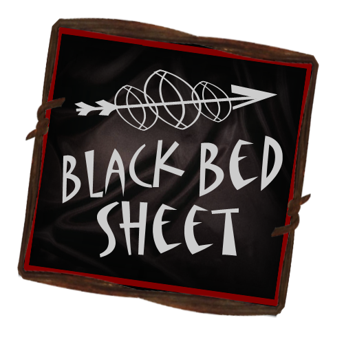 Black Bed Sheet Books