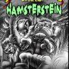 Hamster Frankenstein with chicken doctor front cover horror