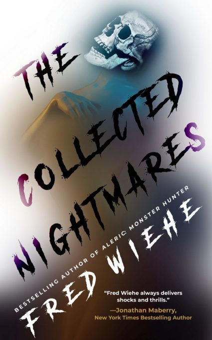 book cover with skull for The Collected Nightmares