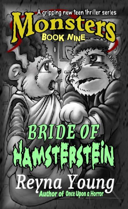 Hamster Frankenstein and bride cover book